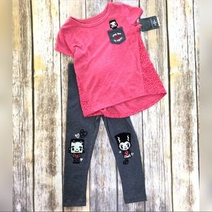 Other - Matching toddler Set 4T